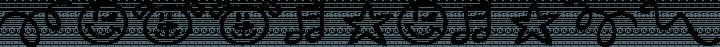 Happy Day Dingbats font family by Corradine Fonts