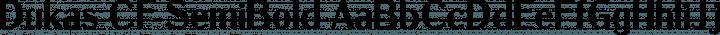 Dukas CF SemiBold free font