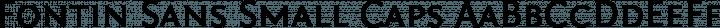 Fontin Sans Small Caps free font
