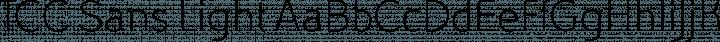 TCC Sans Light free font
