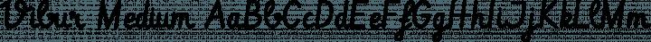 Vibur Medium free font
