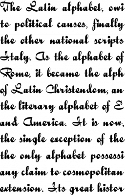 QuigleyWiggly Font Free by Nick's Fonts » Font Squirrel