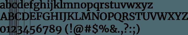 Try These Merriweather Font Word Mac {Mahindra Racing}