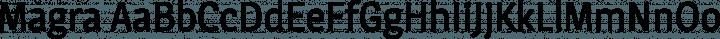 Magra Regular free font