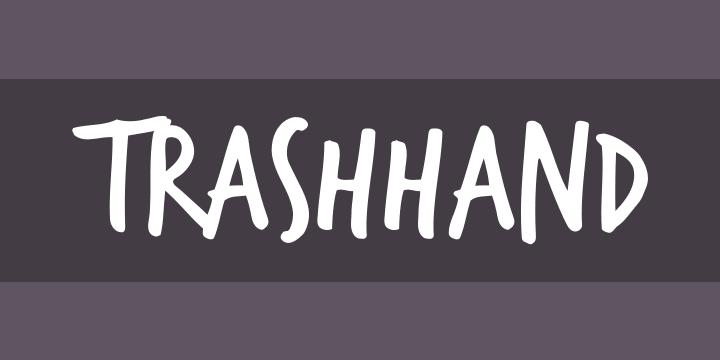 Trashhand Font