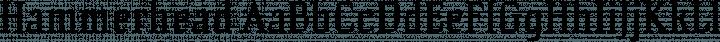 Hammerhead Regular free font