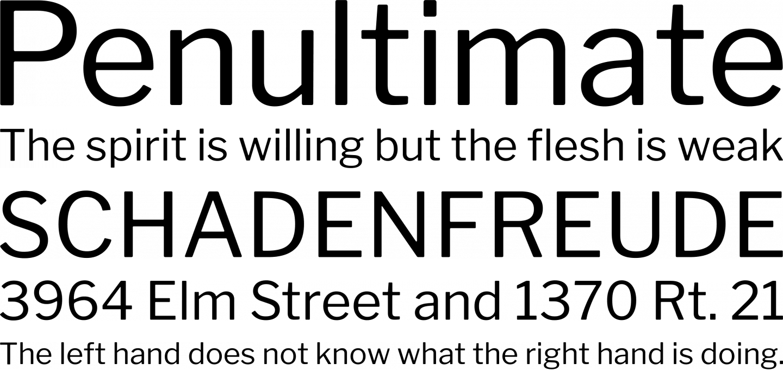 Libre Franklin Font Free by Impallari Type » Font Squirrel