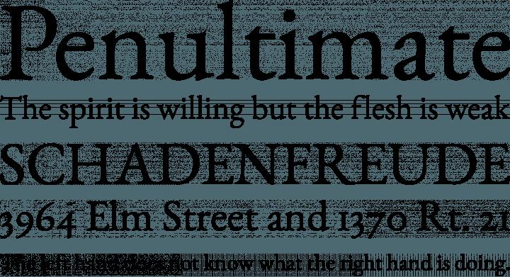 EB Garamond Font Free by Georg Duffner | Font Squirrel