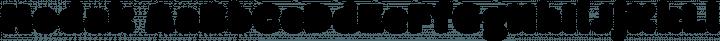 Modak font family by EK Type