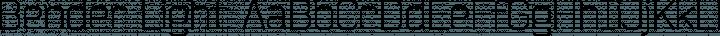Bender Light free font