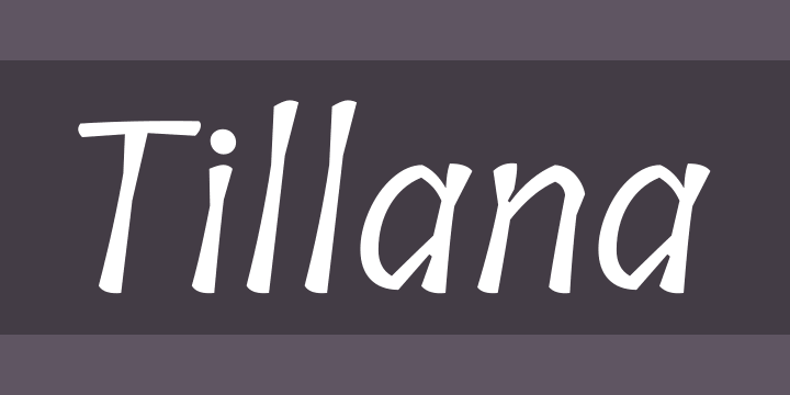 Tillana Font Free by Indian Type Foundry » Font Squirrel