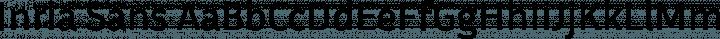 Inria Sans Regular free font