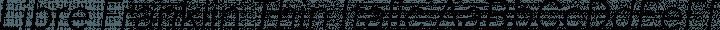 Libre Franklin Thin Italic free font