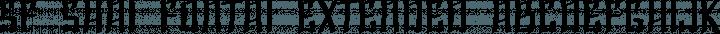 SF Shai Fontai Extended Regular free font