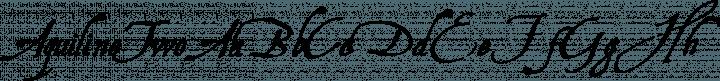 AquilineTwo Regular free font