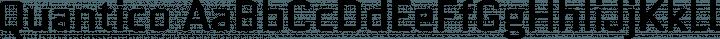 Quantico Regular free font