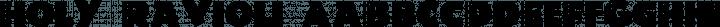 Holy-Ravioli Regular free font