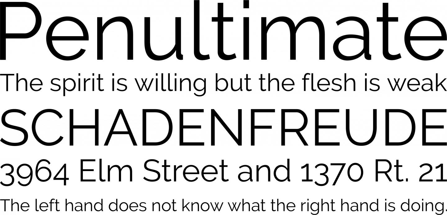 Raleway Font Free by The League of Moveable Type » Font Squirrel