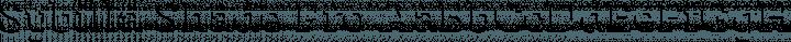 Sybilla Shade Pro Regular free font