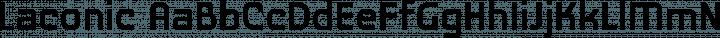 Laconic Regular free font