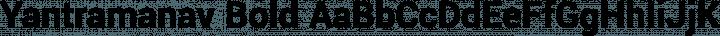 Yantramanav Bold free font