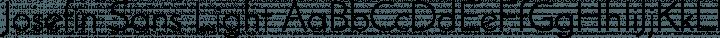 Josefin Sans Light free font
