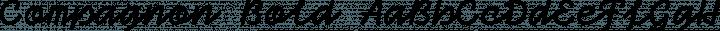 Compagnon Bold free font