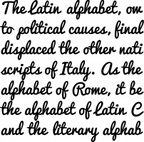 Pacifico Regular Font Specimen