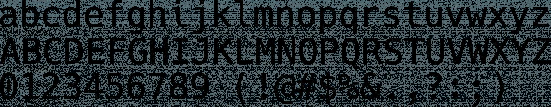 Hack Font Free by Chris Simpkins » Font Squirrel