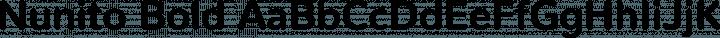Nunito Bold free font