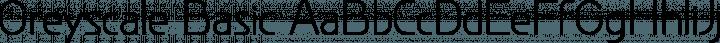 Greyscale Basic font family by GreyscaleNet