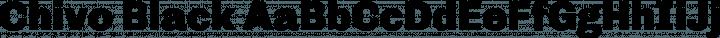 Chivo Black free font