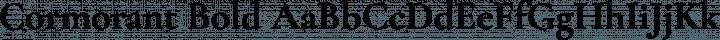 Cormorant Bold free font