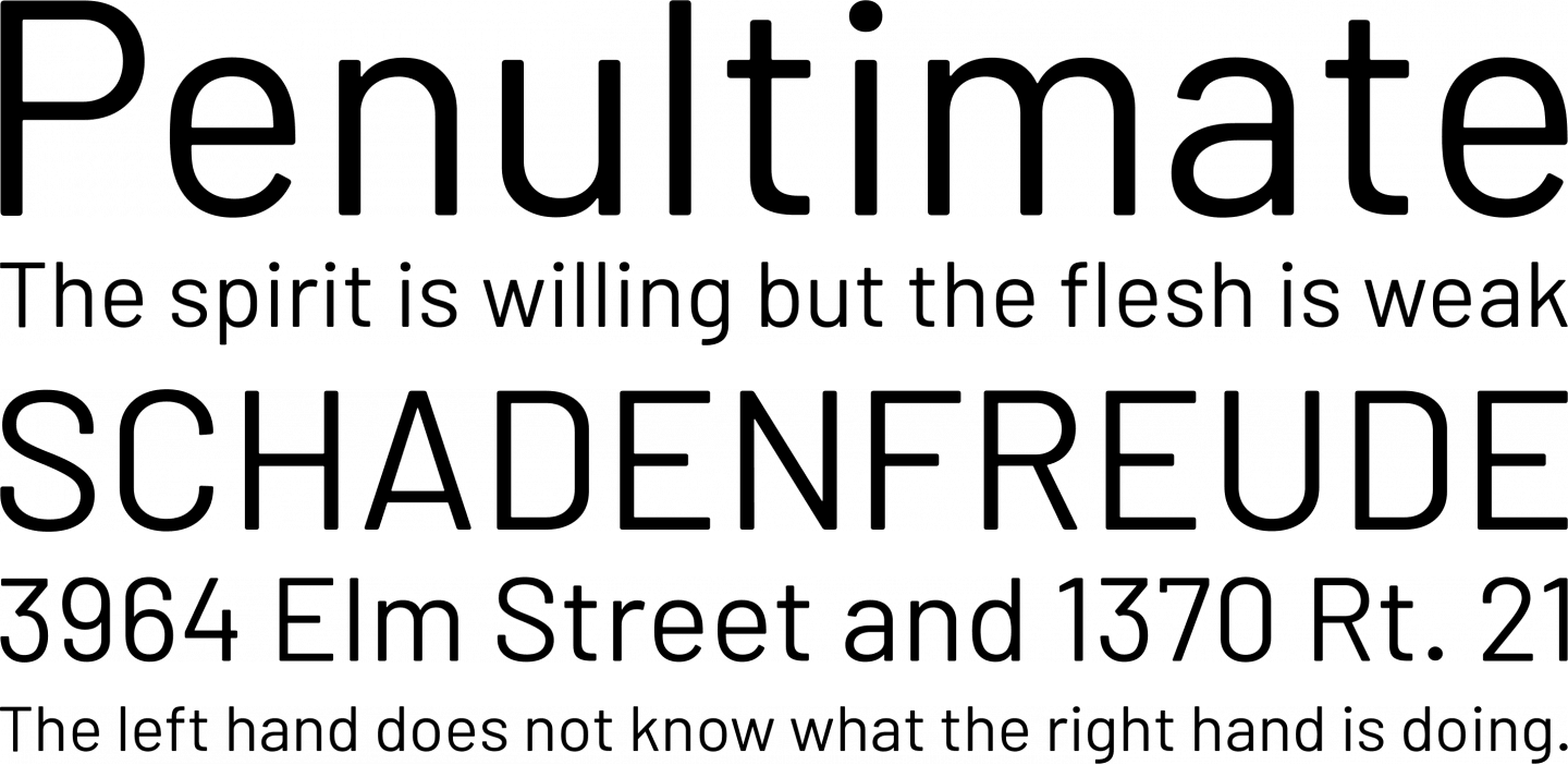 Barlow Font Free by Tribby » Font Squirrel