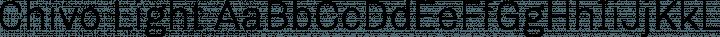 Chivo Light free font