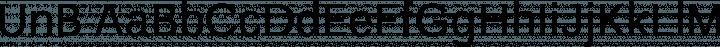 UnB font family by Universidade de Brasilia