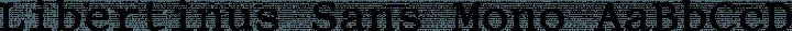 Libertinus Sans Mono free font