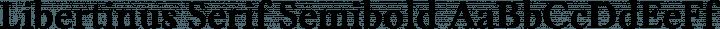Libertinus Serif Semibold free font