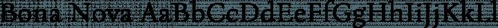 Bona Nova Regular free font
