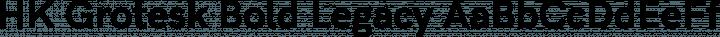 HK Grotesk Bold Legacy free font