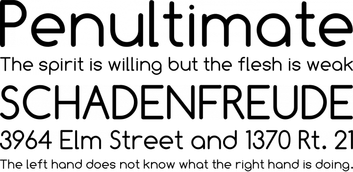 Comfortaa Font Free by Johan Aakerlund » Font Squirrel