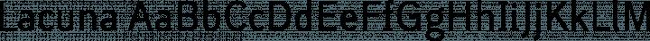 Lacuna Regular free font
