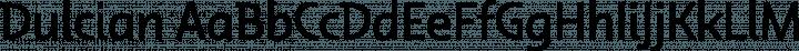Dulcian font family by insigne design