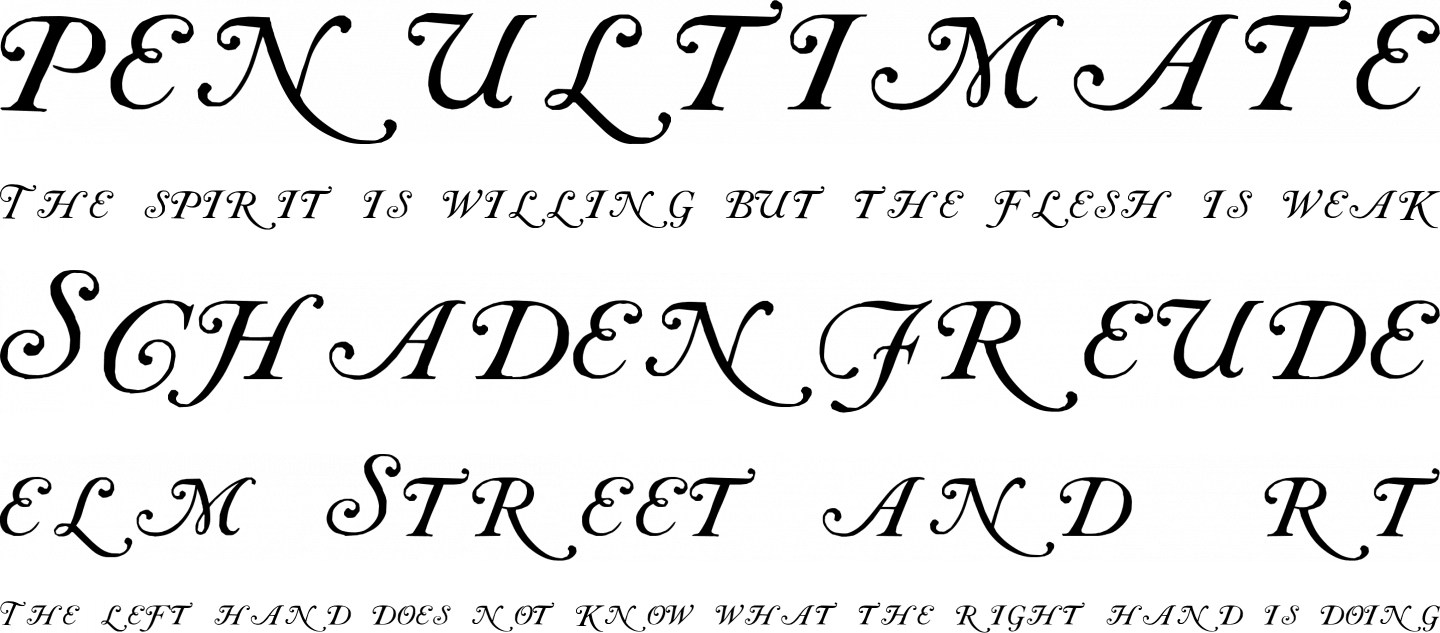 Caslon Initials Font Free by Paul Lloyd » Font Squirrel
