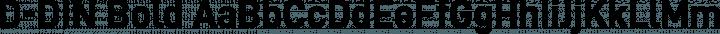 D-DIN Bold free font