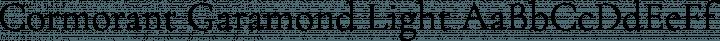 Cormorant Garamond Light free font