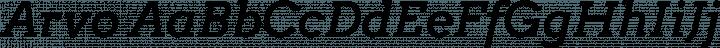 Arvo font family by Anton Koovit