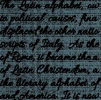 Allura Regular Font Specimen