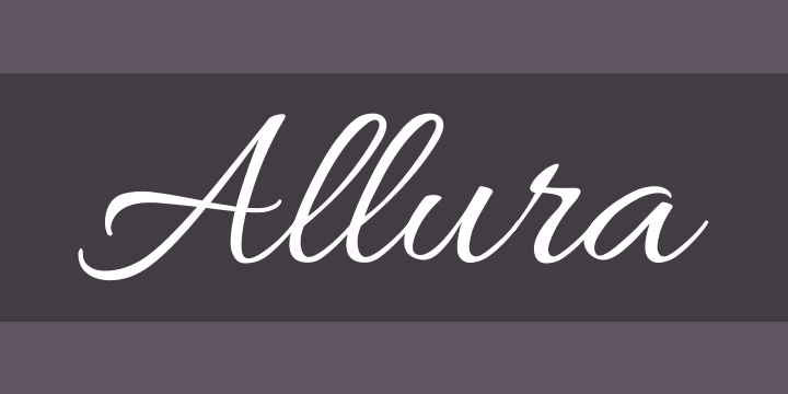 Allura Font Free by TypeSETit » Font Squirrel