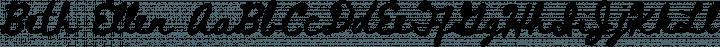 Beth Ellen Regular free font